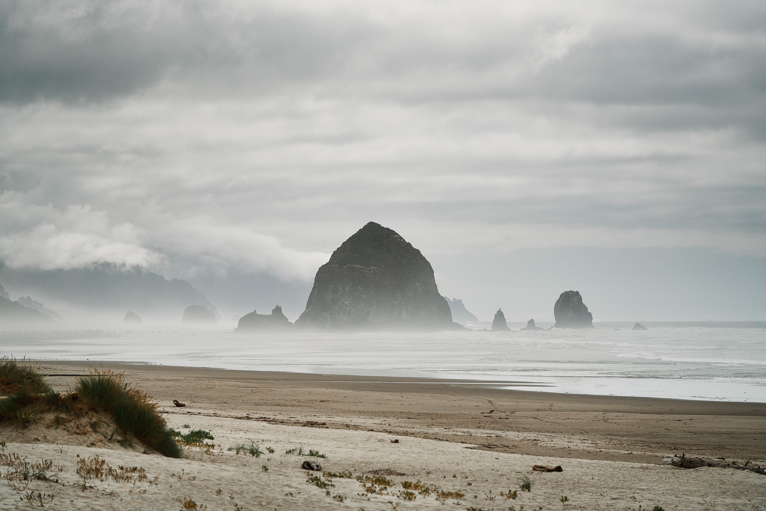 Haystack Rock at Cannon Beach, OR