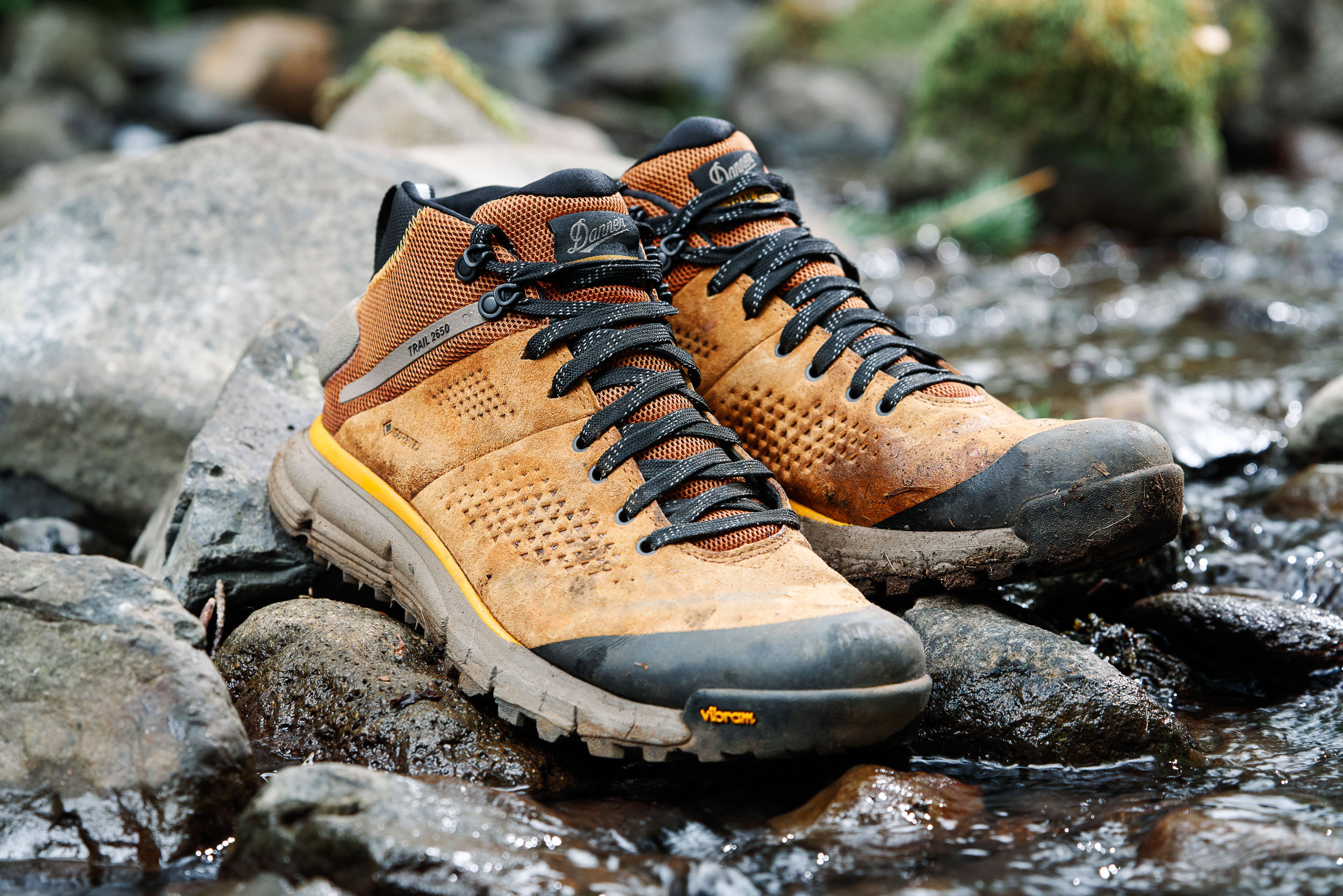 Danner 2650 product shot on the Pacific Crest Trail